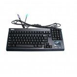 Dell 310-7919 Rack Mount Keyboard Ps2 Black Keyboard W/ Built-in Mouse Touchpad TH827