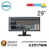 (Open Box) Dell 29 in Ultrasharp Monitor HD U2917WM Ultrawide 21:9 Mini DP DP HDMI VGA MST