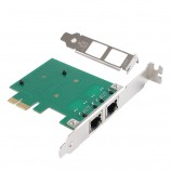 Orico (Dual Port) high-speed expansion port PCI-e odd and even Gigabit Ethernet network interface adapter card built-in computer card external drive