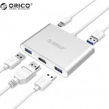 Orico Type-C docking station Apple Huawei RCH3A macbookpro hdmi adapter VGA