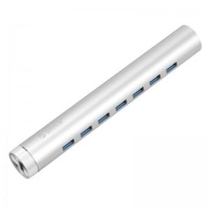 Orico ARH7-U3 (7 Port)USB3.0 hub splitter multi-interface high-speed network switches Apple notebook
