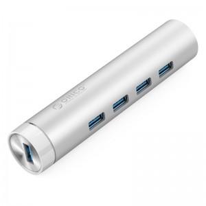 Orico ARH4-U3 (4 Port)USB3.0 hub splitter multi-interface high-speed network switches Apple notebook
