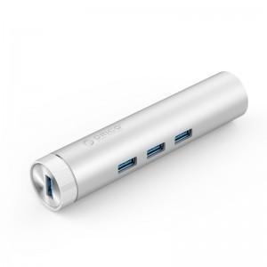 Orico ARH3L-U3 (3 Port)USB3.0 hub splitter multi-interface high-speed network switches Apple notebook