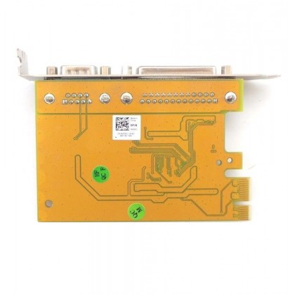 Dell 5R3FC Sunix Parallel Serial Expansion Card PCI-E FH DB9 MIO6469A