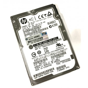 "HP 600GB 15K RPM SAS III 2.5"" SFF 12GB/S SAS3 Hard Drive HDD 748385-003"
