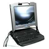 Dell 17 inches rack mount LCD Monitor Screen KMM Console 17FP TH6C1