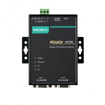 MOXA MGate MB3180 1-port standard Modbus gateway RS232 422 485