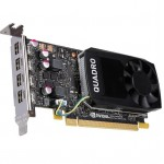 NVIDIA Quadro P1000 VCQP1000-PB 4GB 128-bit GDDR5 PCI Express Low Profile Graphic Card