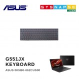 ASUS G551JX GL552VW 0KNB0-662CUS00 PK13183310S Black US Keyboard