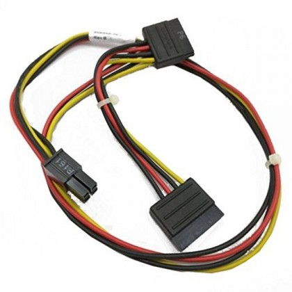 HP Elite ATX 4-Pin 2X SATA Adapter Cable 628568-001 6200 6300 8100 8200 8300