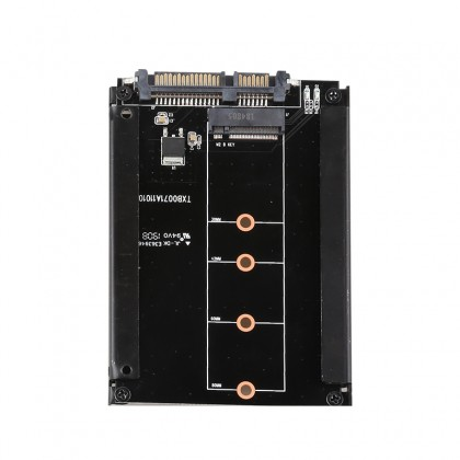 DIEWU M.2 to SATA3.0 expansion card Bkey adapter SSD solid state drive interface conversion card 2.5-inch hard drive