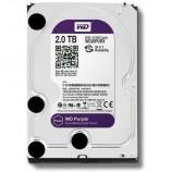 """WD Purple 2TB Surveillance Hard Disk Drive 5400 RPM Class SATA 6 Gb/s 64MB Cache 3.5 """" WD20PURX"""