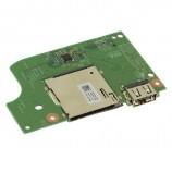 Dell Inspiron 15 7569 7579 USB SD Card Reader IO Circuit Board 1379X