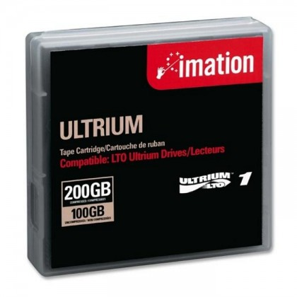 Imation LTO 1 Tape Ultrium Replacement Data Tape Cartridge 41089