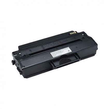 Dell B126X Standard Capacity 1,500 Pages Black Toner Cartridge for Dell B1260dn/B1265dnf Laser Printers 593-11110
