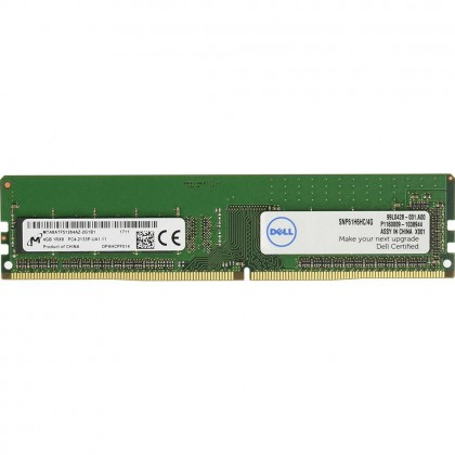 Dell 4GB 1RX8 DDR4 UDIMM 2133MHz Ram Memory Upgrade MTABATF51264hZ-2G1B1