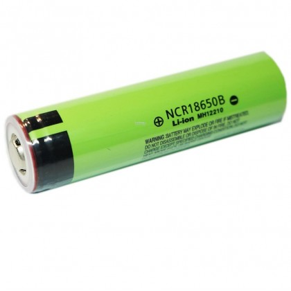 Panasonic 4.875A 3200 mAh 4.20 +/- 0.03 V NCR18650B Battery Flat-top