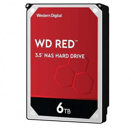"WD Red 6TB NAS 5400RPM 256MB Cache 3.5"" Internal Hard Drive WD60EFAX"