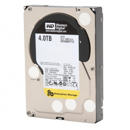 "WD Re 4TB 7200 RPM Class SATA 6Gb/s 64MB 3.5"" WD4000FYYZ Hard Disk Drive"