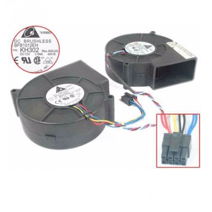 Dell PowerEdge 860 Dual Case Replacement Fan HH668 KH302 BFB1012EH