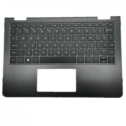 Hp Palmrest Assy 924117-001 Replacement No Touchpad