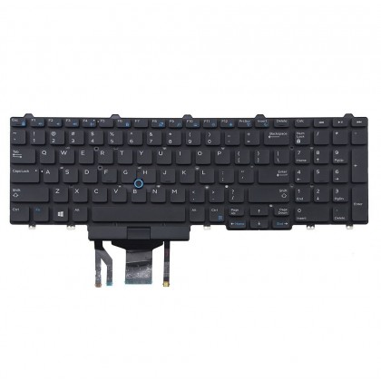 Dell Precision 7510 Replacement Keyboard Backlit US Black