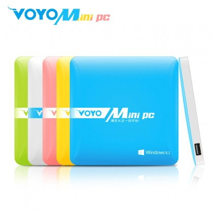 VOYO Mini PC TV Box Media Streaming Player Windows 8.1 Intel Z3735 Quad Core 2GB 64GB 4K HDMI WIFI