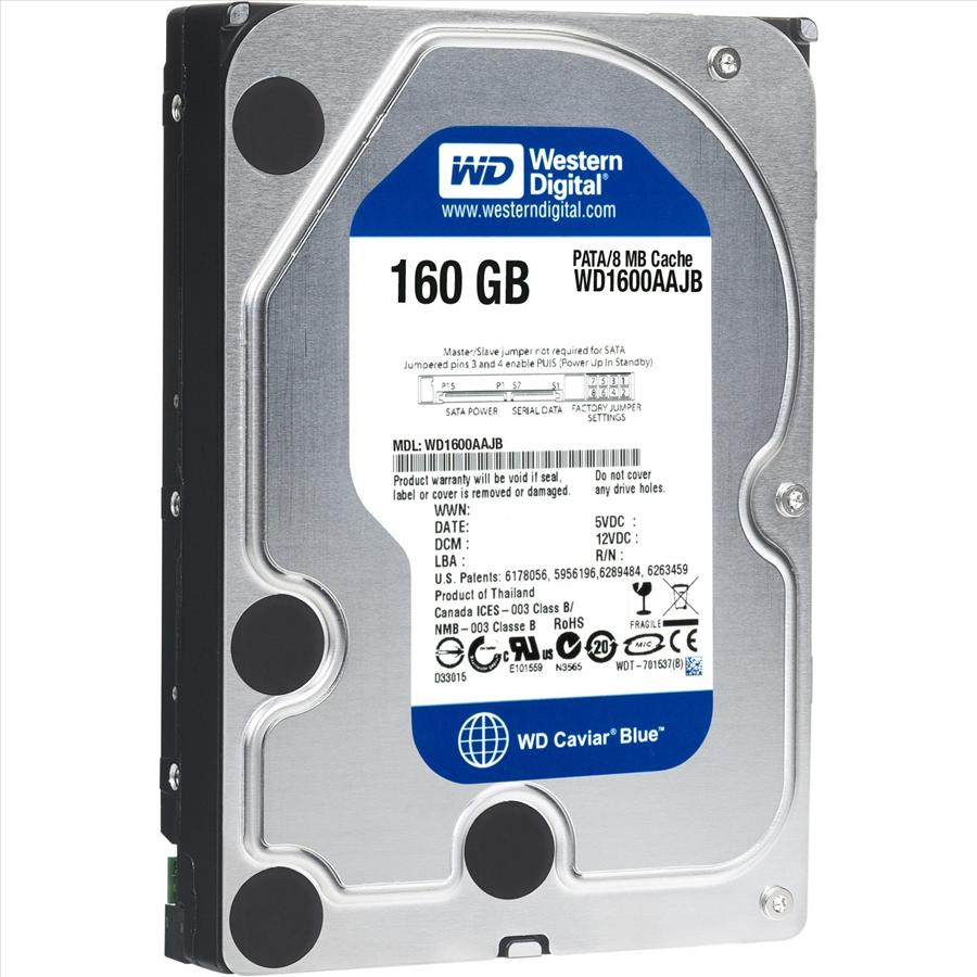 Western Digital Caviar SE SE WD1600AAJB 160 GB 3 5 Inches Internal Hard  Drive