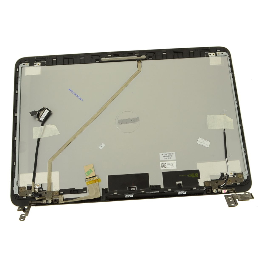 """7547 // 7548 New Dell Inspiron 15 15.6/"""" LCD Back Cover Lid 026TRK W//Hinges"""