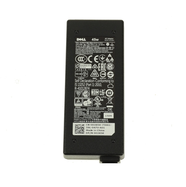 Dell XPS 12 9Q33 Inspiron 14 7437 AC Power Adapter 45W KXTTW 0285K